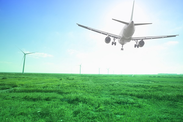 Airlines are looking to do their part for a greener future